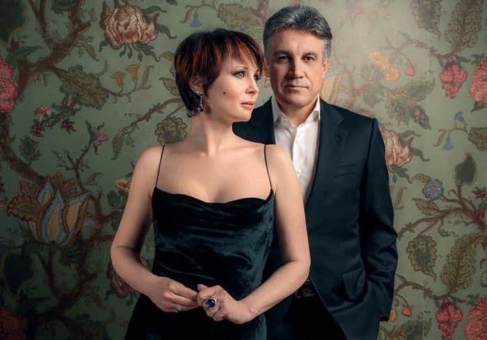 Алексей Пиманов с женой Ольгой Погодиной