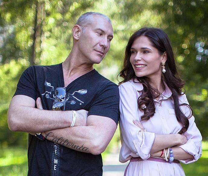 Игорь Жижикин с женой Наташей
