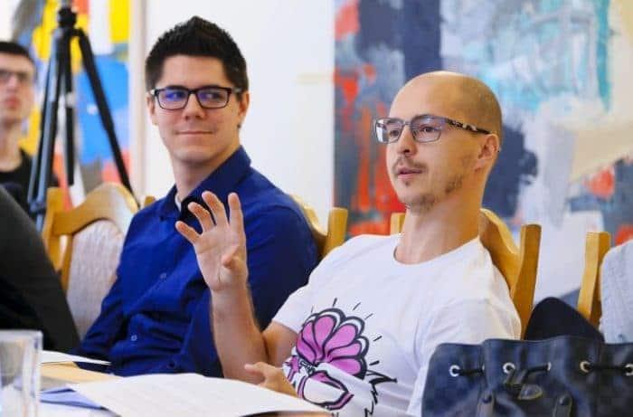 Дмитрий Волков с командой Social Discovery Ventures