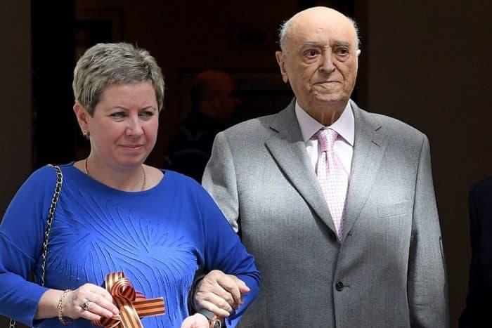 Владимир Этуш с женой Еленой Горбуновой
