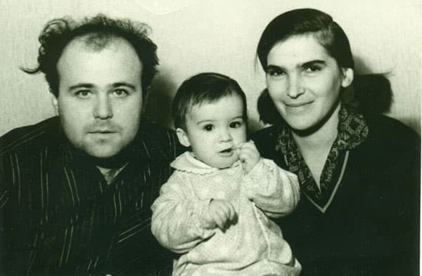 Александр Калягин и его первая жена Татьяна Корунова