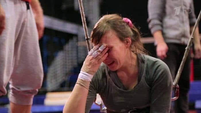 Дарья Екамасова в шоу «Без страховки»