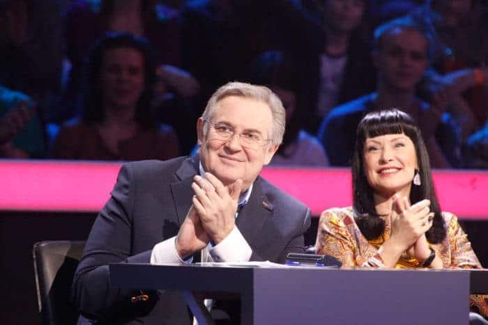 Юрий Стоянов в жюри передачи «Один в один»