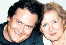 Юрий Стоянов и его первая жена Ольге Синельченко