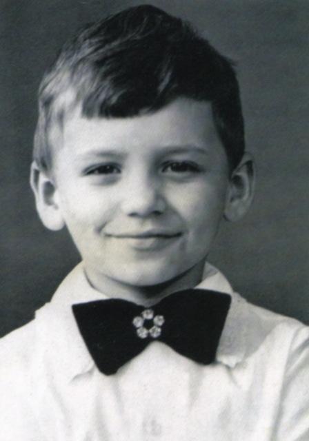 Александр Олешко в детстве