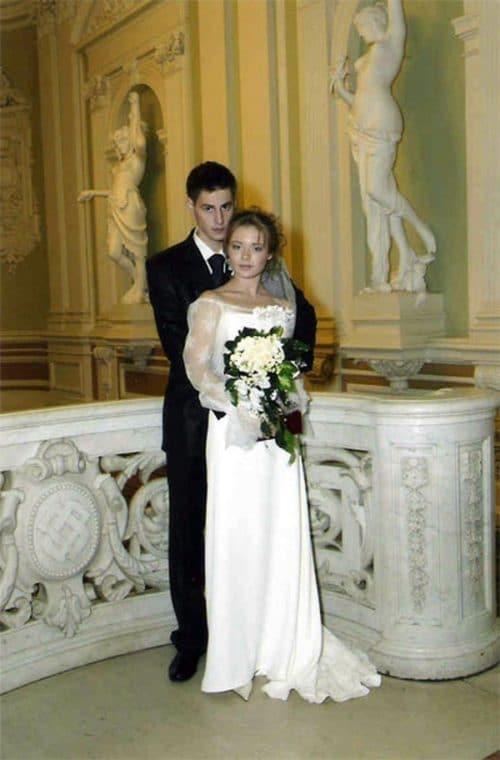 Карина Разумовская с мужем Артемом Карасевым