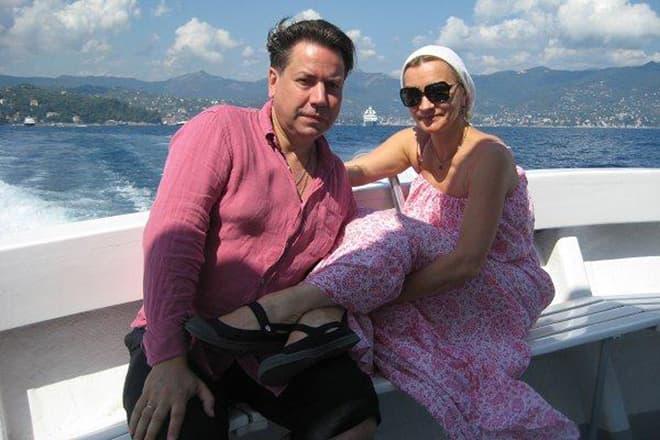 Анна Якунина с мужем