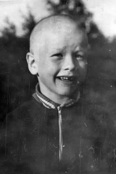 Никита Панфилов в детстве