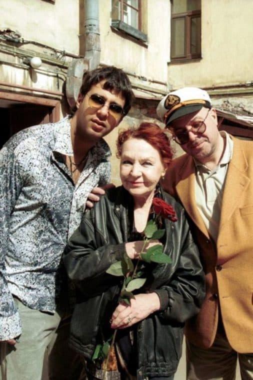 Нина Ургант с мужем Кириллом Ласкари и сыном