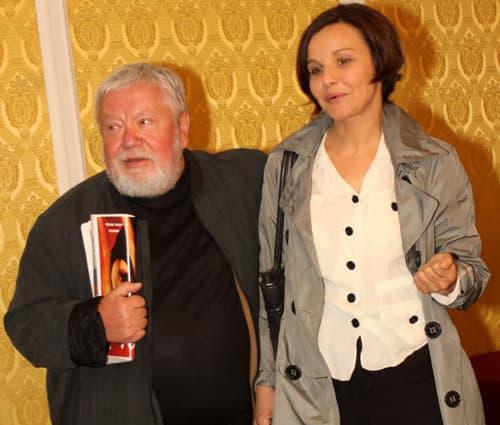 Сергей Соловьев и Татьяне Друбич