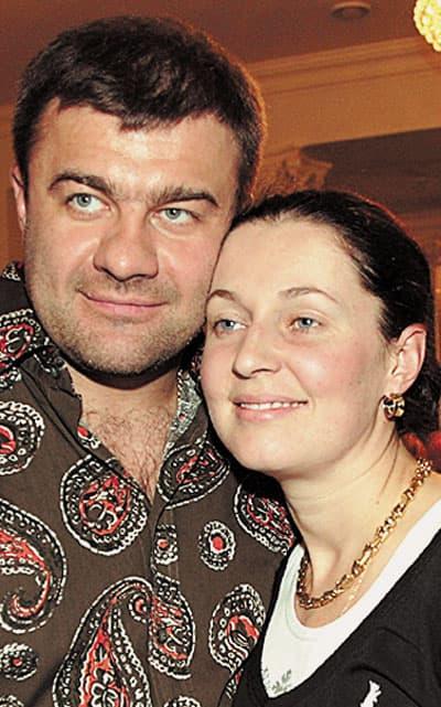 Михаил Пореченков с женой Екатериной Пореченковой