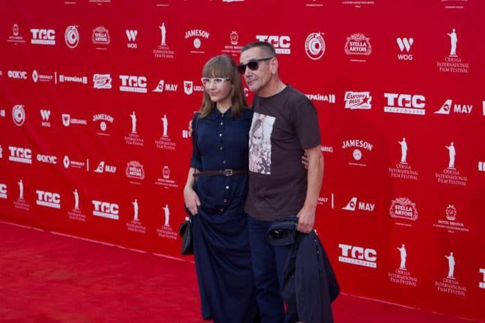 Алексей Горбунов с женой Ириной Ковалевой