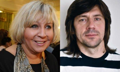 Марина Голуб и Михаил Кравченко