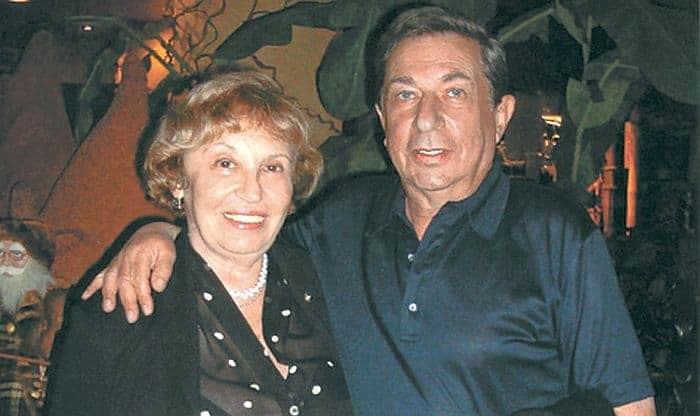 Игорь Кваша и его вторая жена Татьяна Путиевская
