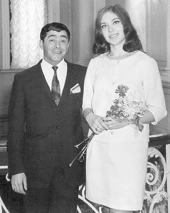 Роман Карцев с женой Викторией Кассинской