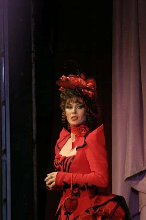 Лидия Вележева в театре