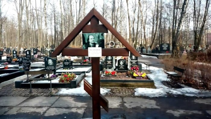 Могила Алексея Балабанова