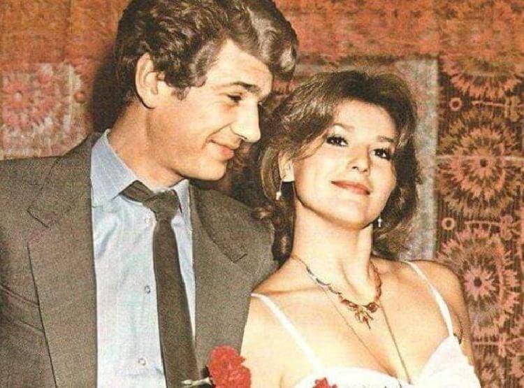 Игорь Костолевский с первой женой Еленой Романовой