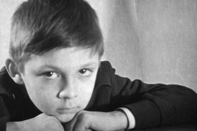 Сергей Чонишвили в детстве