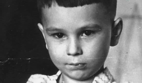 Алексей Балабанов в детстве