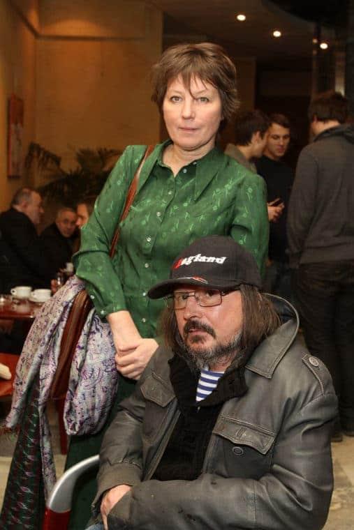 Алексей Балабанов и его жена Надежда Васильева
