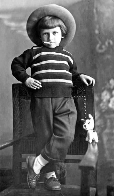 Игорь Кваша в детстве