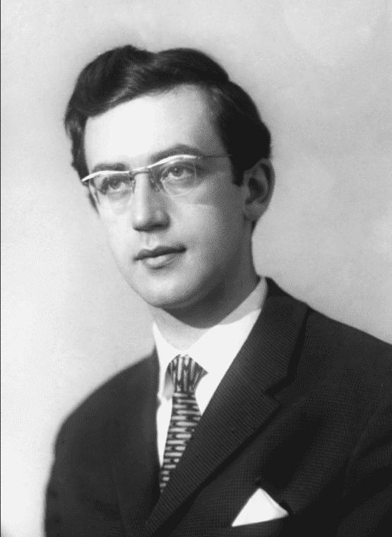 Василий Ливанов в молодости