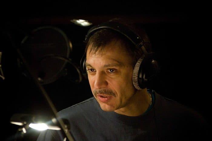 Сергей Чонишвили на озвучке