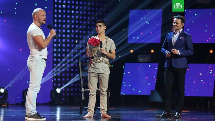 Никита Панфилов в программе «Ты супер!»