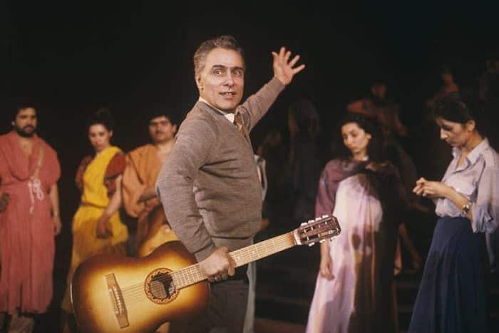 Николай Сличенко в театре