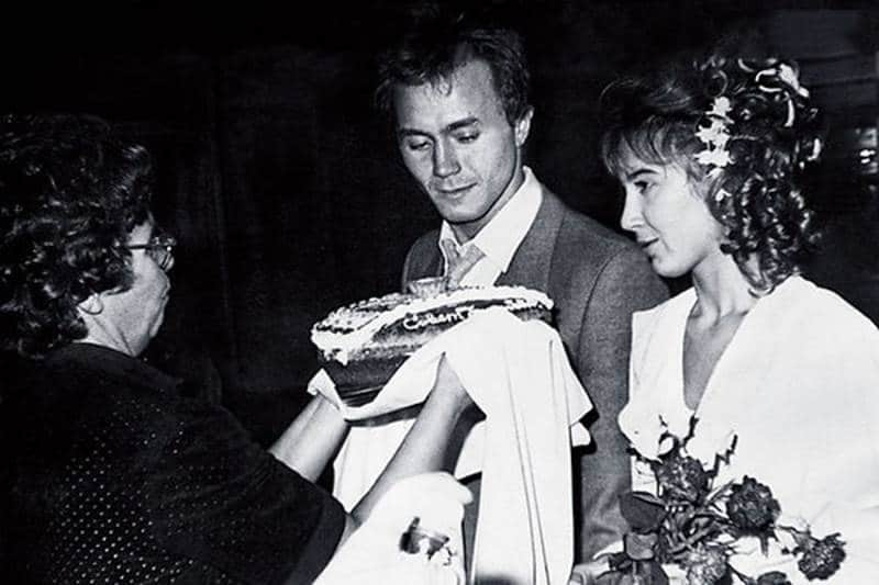 Свадьба Андрея Панина и Татьяны Французовой