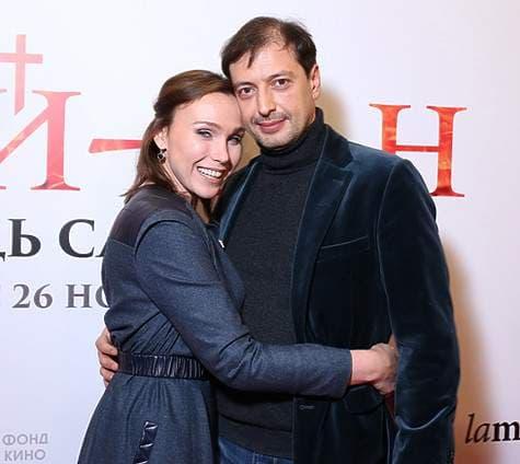 Дарья Екамасова с мужем Денисом Фриманом