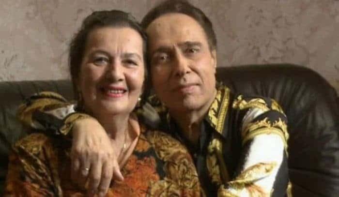 Николай Сличенко с женой Тамиллой Агамировой