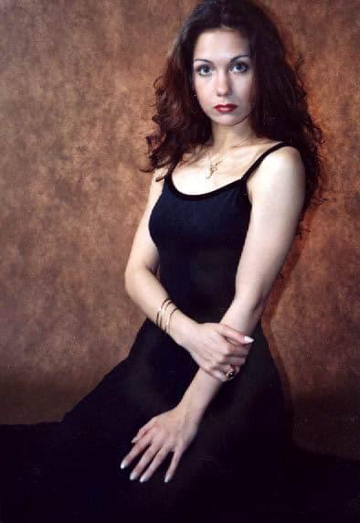 Екатерина Климова в юности