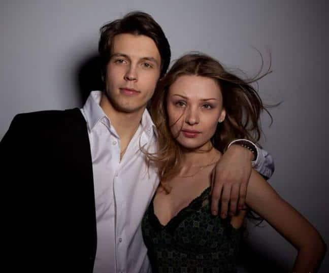 Ирина Таранник с мужем Денисом Васильевым