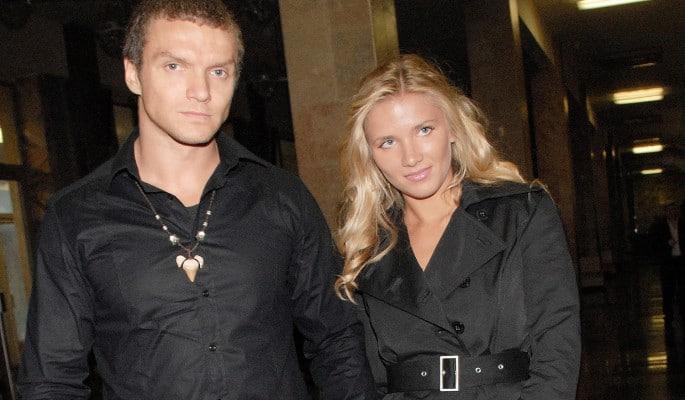 Анастасия Веденская с мужем Владимиром Епифанцевым