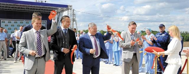 Александр Удодов на открытии Грибной радуги