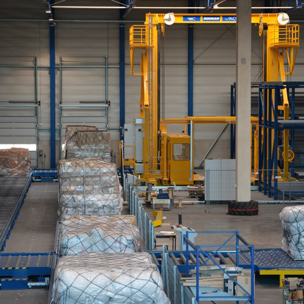 VG Cargo Александра Удодова занимает доминирующие позиции в наземной обработке авиагрузов в хабе Франкфурт-Хан