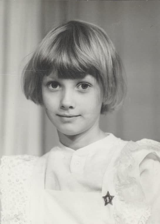 Анастасия Цветаева в детстве