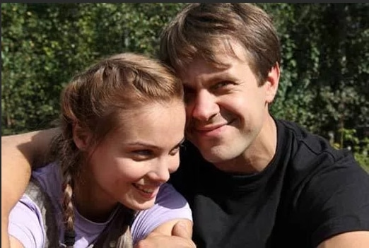 Татьяна Арнтгольц с Сергеем Перегудовым