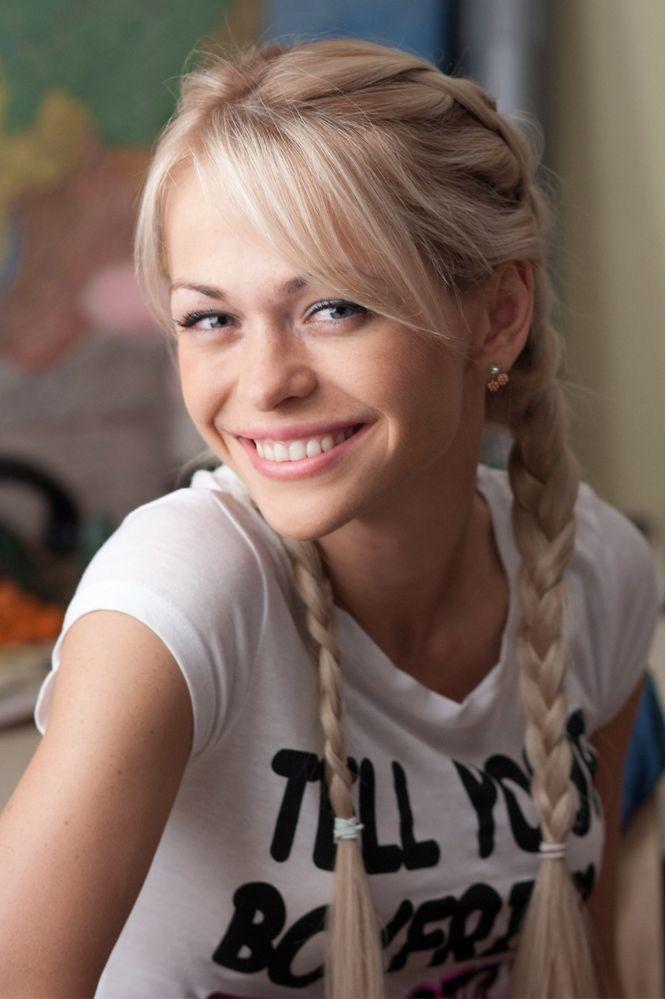 Анна Хилькевич в молодости