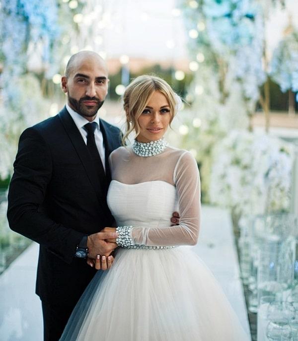 Анна Хилькевич и ее второй муж Артур Волков