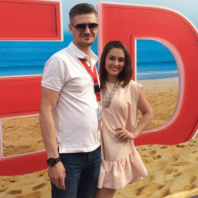 Мария Кравченко с Константином Золотаревым