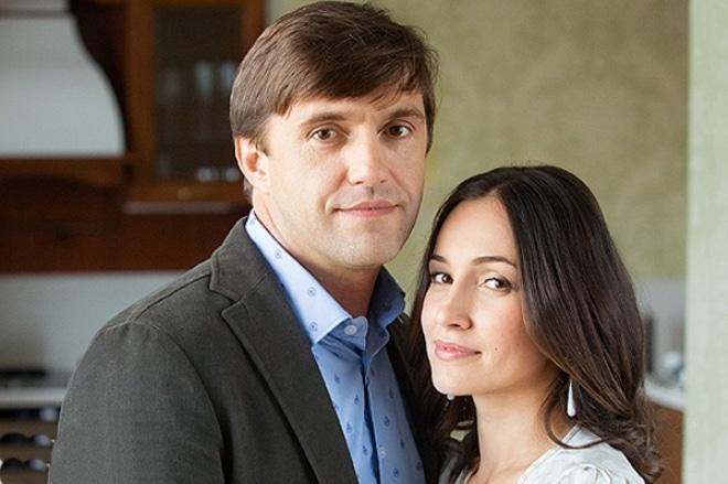 Ольга Филиппова с Владимиром Вдовиченковым