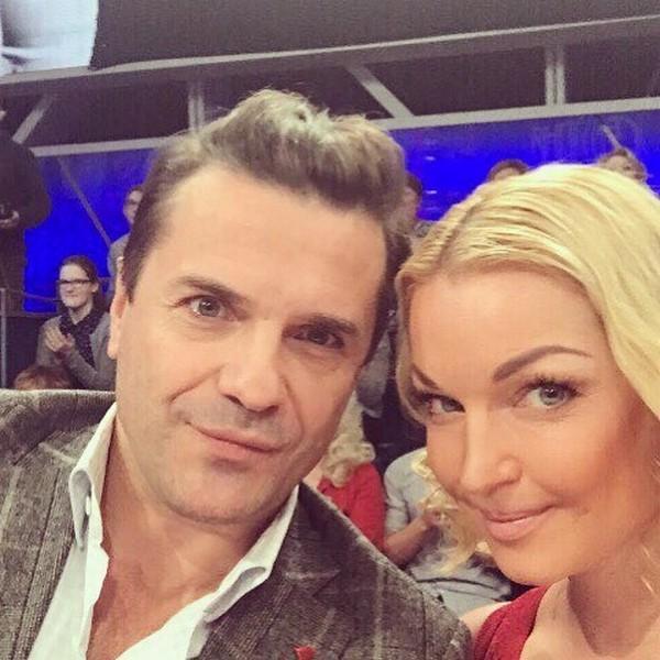 Сергей Астахов с Анастасией Волочковой