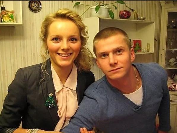 Роман Курцын с Анной Назаровой