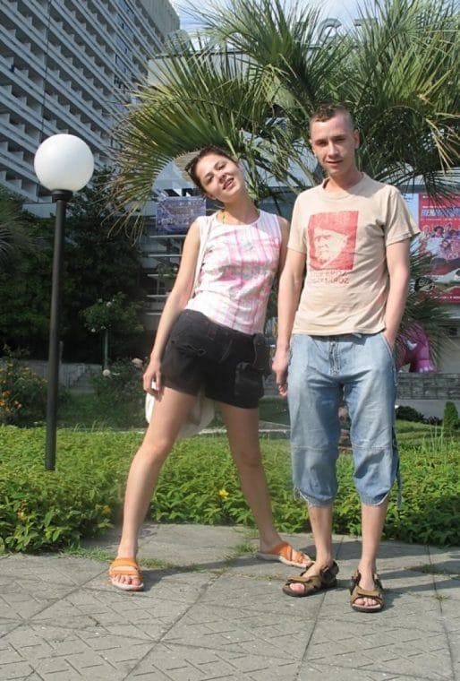 Александр Яценко и Елена Лядова