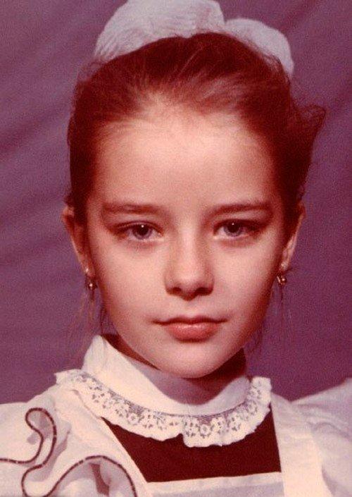 Марина Александрова в юности