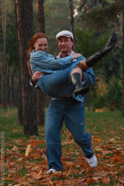 Елена Ксенофонтова с Игорем Липатовым