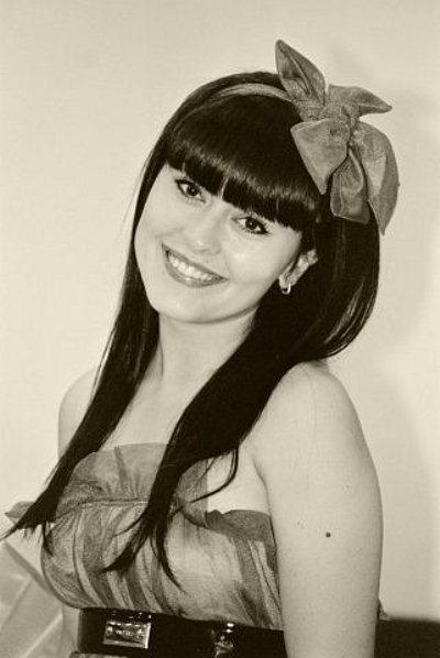 Мария Кравченко в юности